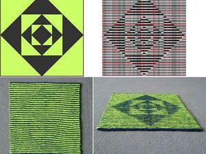 Вяжем иллюзию: отличия теневого и иллюзорного вязания. Ярмарка Мастеров - ручная работа, handmade.