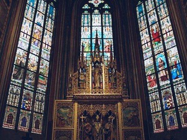 Собор святого Вита. Витражи | Ярмарка Мастеров - ручная работа, handmade