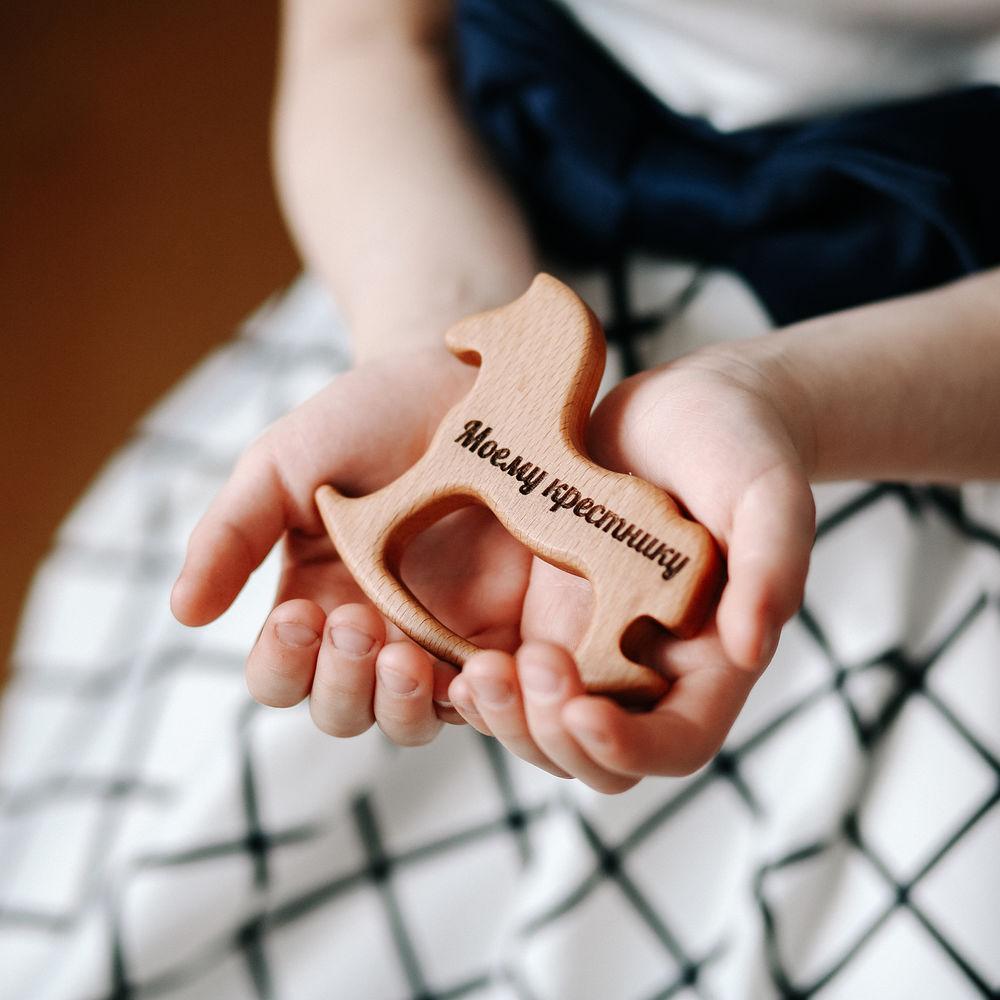 первая игрушка, игрушка, деревянная основа, прорезыватель из бука, качественная игрушка