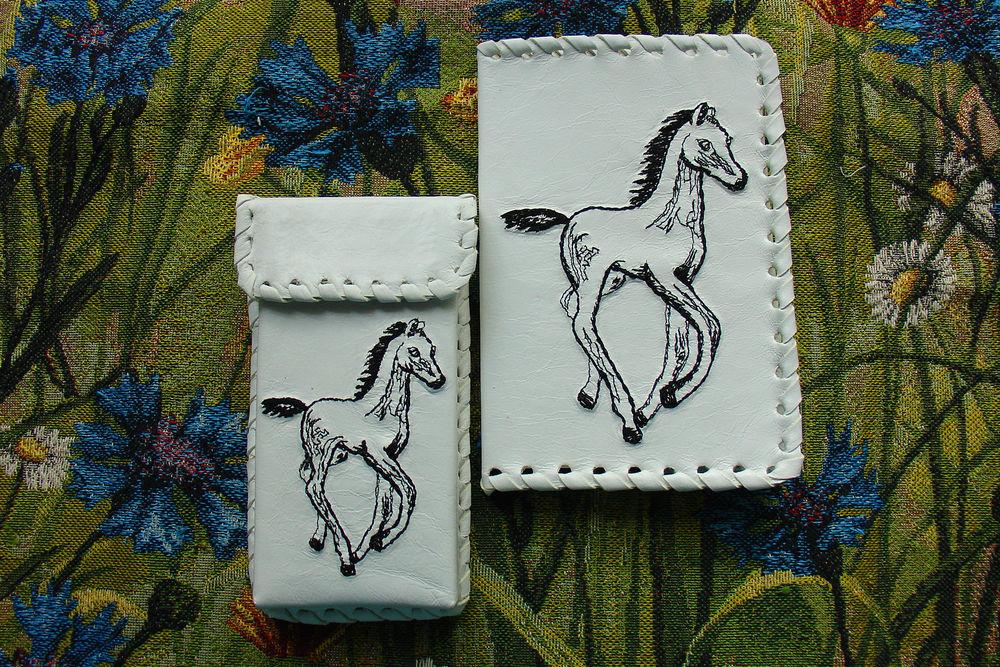 вышиваем лошадей