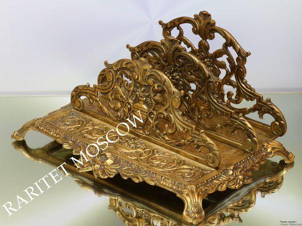 Раритетище Салфетница Большая бронза Depose 12   Ярмарка Мастеров - ручная работа, handmade
