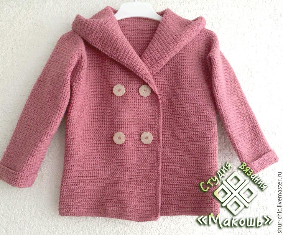 Мастер класс вязание пальто детское для 18