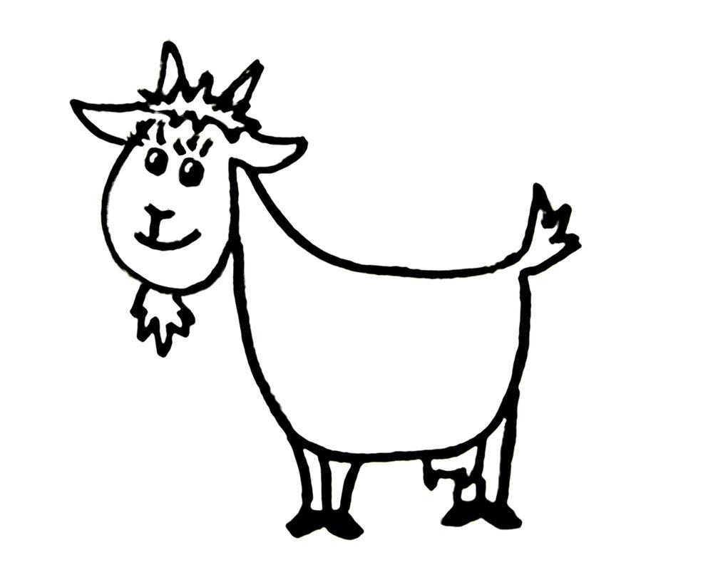 коза, символ, картинка