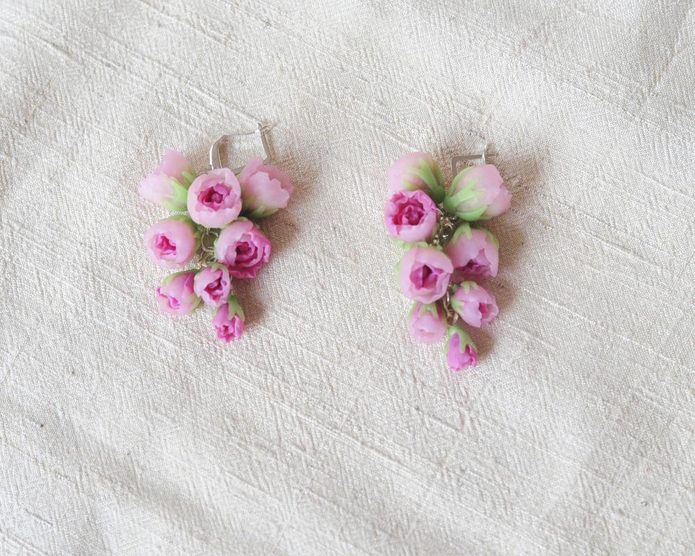 пионовидная роза, розовый