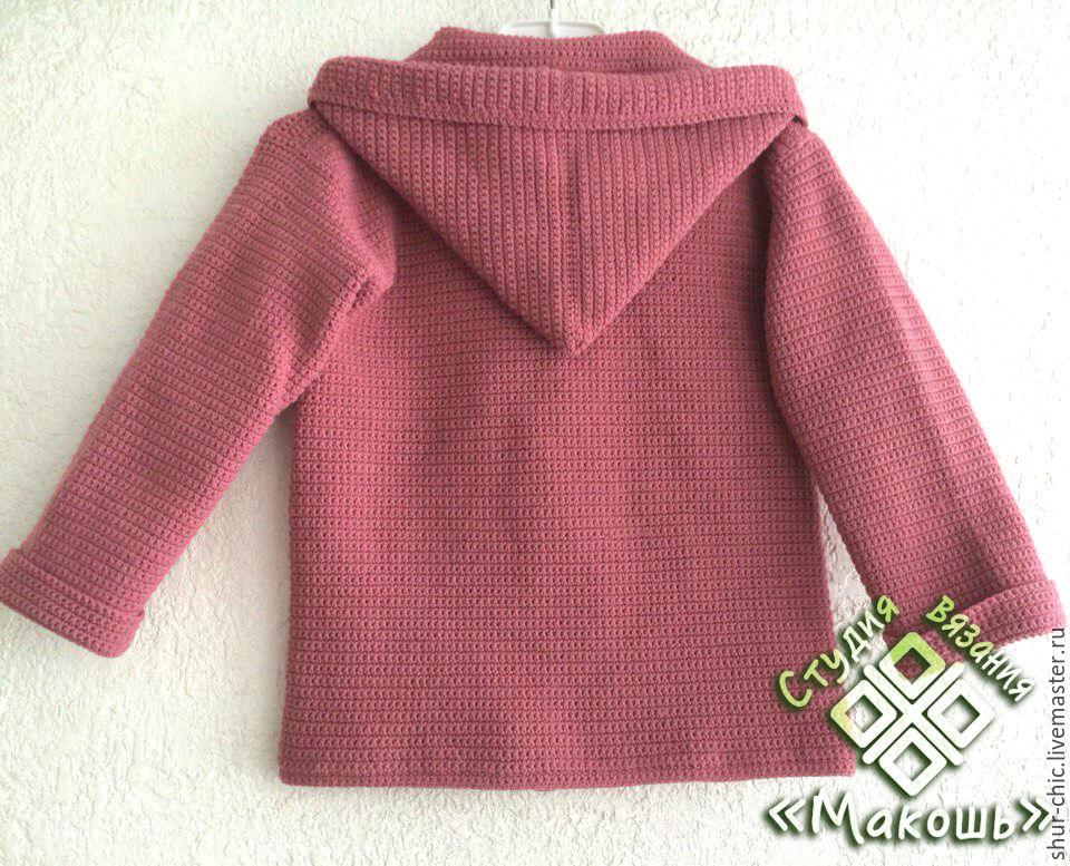Мастер класс вязание пальто детское для 776