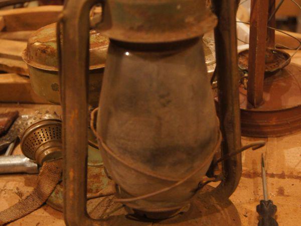 Новая жизнь старой керосиновой лампы | Ярмарка Мастеров - ручная работа, handmade