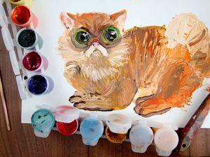Как нарисовать «Рыжее чудо»: видео мастер-класс. Ярмарка Мастеров - ручная работа, handmade.