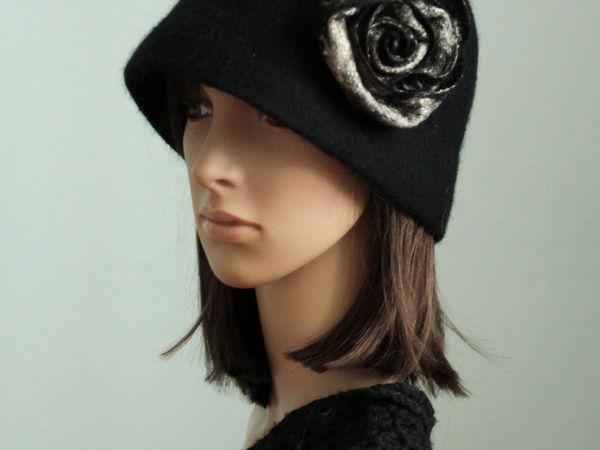 Головные уборы из войлока: шапочки, шляпки, кепки, береты | Ярмарка Мастеров - ручная работа, handmade
