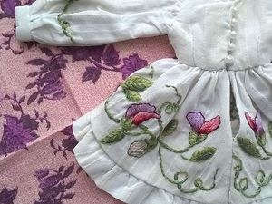 Вышитые наряды для кукол Блайз   Ярмарка Мастеров - ручная работа, handmade