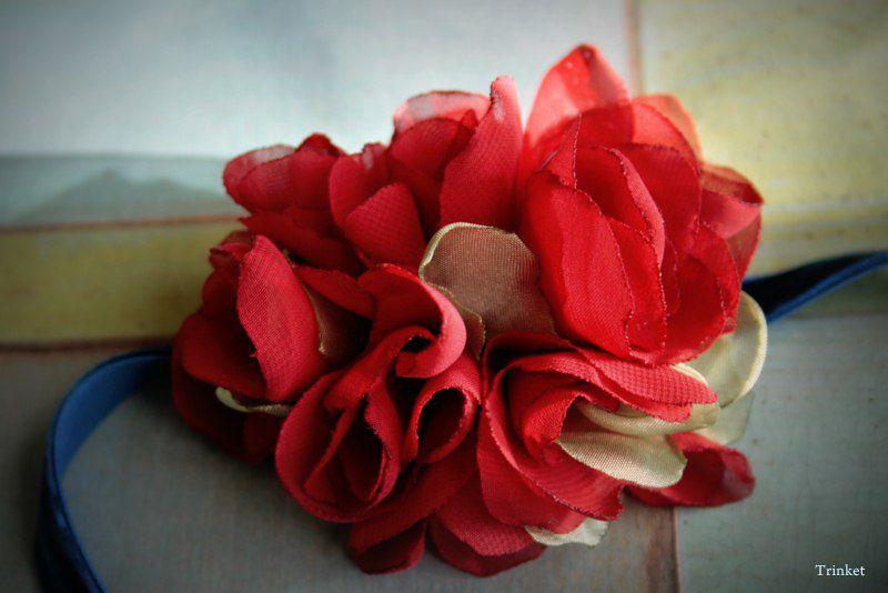 цветы, букет роз, чокер