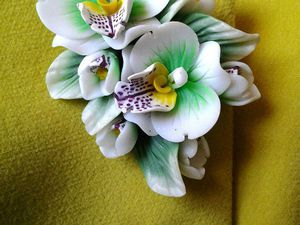 Новая брошь с орхидеями в моем магазине | Ярмарка Мастеров - ручная работа, handmade