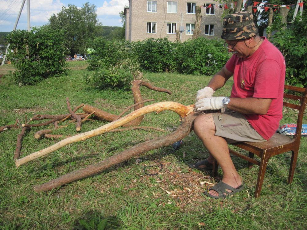 Об участии в международном фестивале деревянной скульптуры., фото № 5