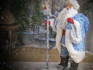 Как мир был огромен, а в Деда Мороза верили нешуточно. Ярмарка Мастеров - ручная работа, handmade.