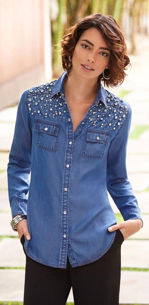Многообразный декор джинсовых курток: 50 интересных вариантов, фото № 27