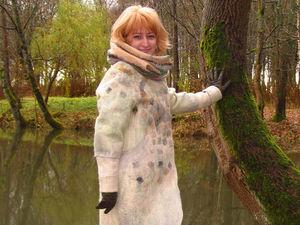 Скидка на зимнее пальто 40%. Ярмарка Мастеров - ручная работа, handmade.