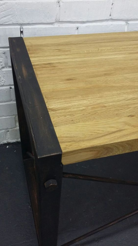 стол в стиле лофт, этажерки лофт
