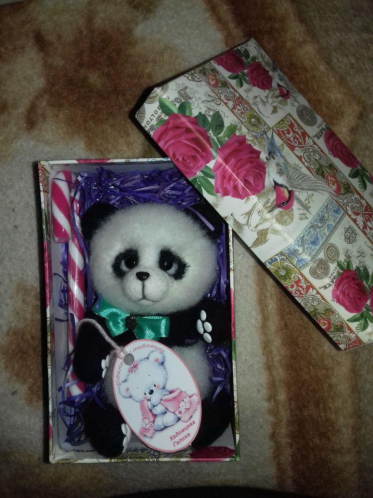 заказы, заказ, заказчики, игрушка панда, игрушка из шерсти, игрушка ручной работы