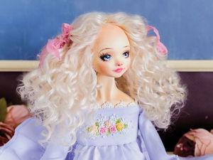 Энжи  авторская кукла, интерьерная коллекционная кукла, подарок. Ярмарка Мастеров - ручная работа, handmade.