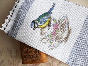 Щедрый аукцион на 5 мешочков с ручной вышивкой крестом. Ярмарка Мастеров - ручная работа, handmade.