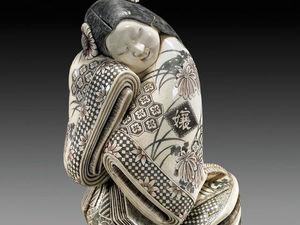 Паутинка орнаментов на японских нэцке. Ярмарка Мастеров - ручная работа, handmade.
