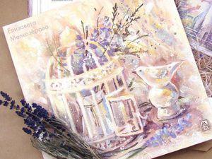 Франция. Прованс. Пастельная живопись   Ярмарка Мастеров - ручная работа, handmade