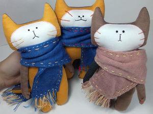 Вкусные коты | Ярмарка Мастеров - ручная работа, handmade