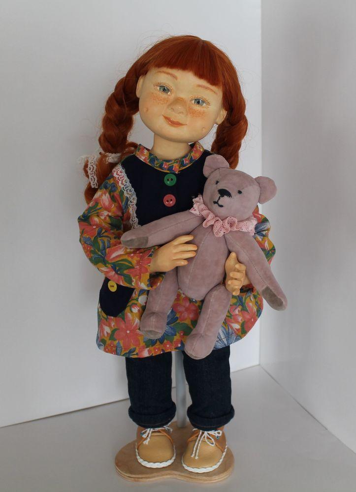 кукла ручной работы, doll