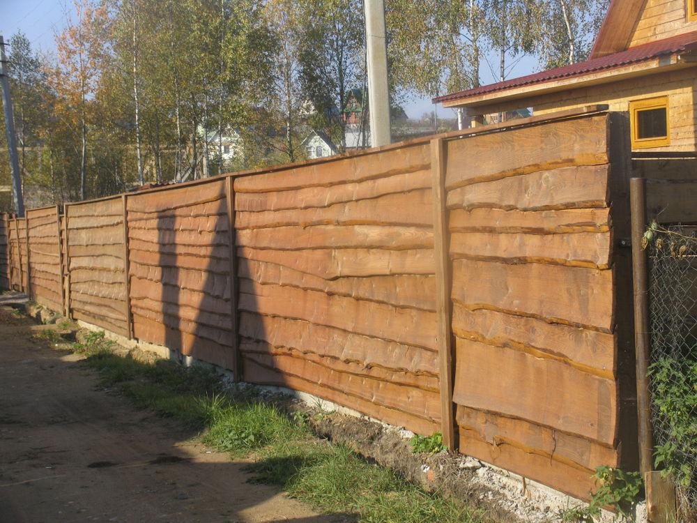 Забор своими руками на даче на ютубе