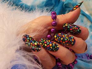 Как я делаю накладные ногти. Ярмарка Мастеров - ручная работа, handmade.