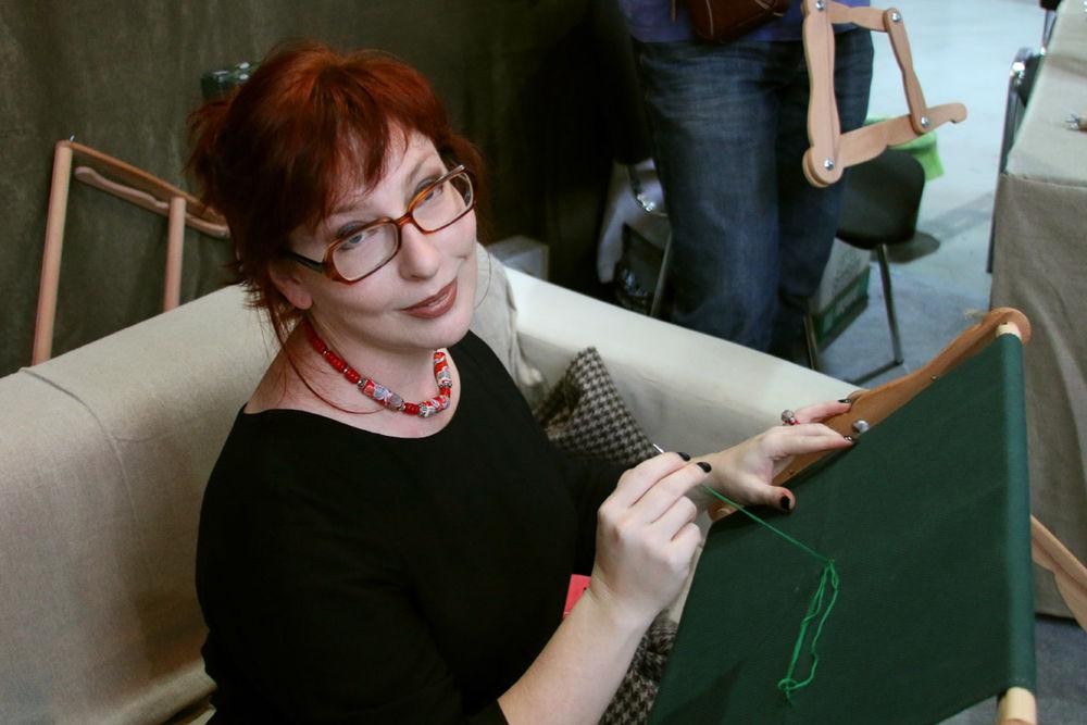 формула рукоделия, выставка, вышивка, пяльца