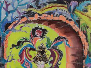 Мастер-класс по Батику ПЯТНИЦА 6 января 11-00. Горячий батик. | Ярмарка Мастеров - ручная работа, handmade