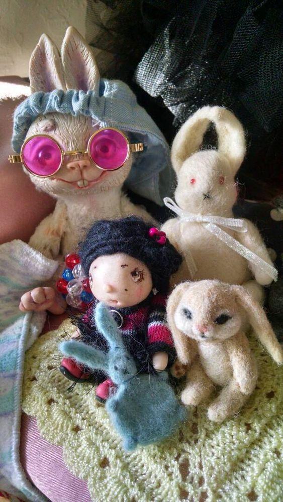 аленины куклы, чудики, белый кролик, аленины пуговки, на новом месте, приветы издалека, отзывы