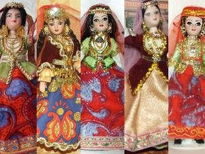 Азербайджанки — мои куклы в народном костюме, особенности азербайджанского костюма. Ярмарка Мастеров - ручная работа, handmade.