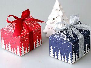 Идеи упаковки подарков к Новому году. Ярмарка Мастеров - ручная работа, handmade.