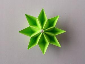 Собираем с детьми цветок из бумаги. Ярмарка Мастеров - ручная работа, handmade.