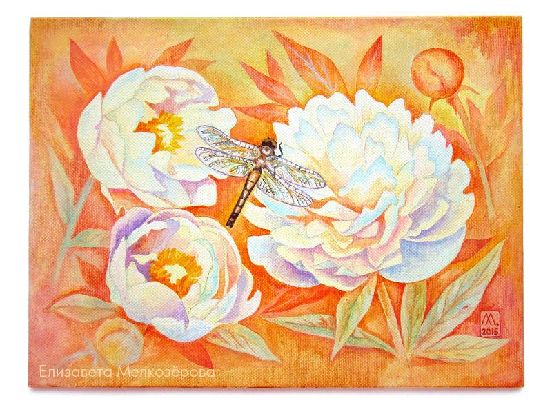 весна лето летний, детская комната, стрекоза крылья насекомое