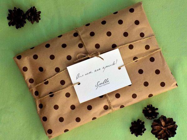 Упаковка наших работ   Ярмарка Мастеров - ручная работа, handmade