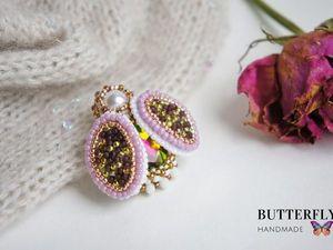Дарю брошь! Конкурс до 21.07.18 от магазина Стильная бижутерия. Butterfly HM. Ярмарка Мастеров - ручная работа, handmade.