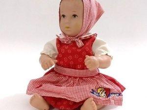 Наша куколка Kathe Kruse. Ярмарка Мастеров - ручная работа, handmade.