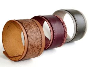 Кто соскучился по широким кожаным браслетам?! )))))))). Ярмарка Мастеров - ручная работа, handmade.