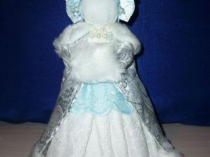 "Мастерим куклу-оберег ""Снегурочка"". Ярмарка Мастеров - ручная работа, handmade."