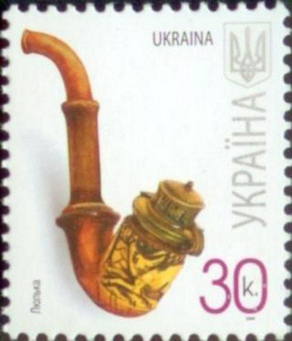 курительные трубки, почтовая марка