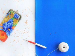 Видео мастер-класс: осваиваем вязание бисером. Урок 21. Прямое полотно с обрывом нити. Ярмарка Мастеров - ручная работа, handmade.