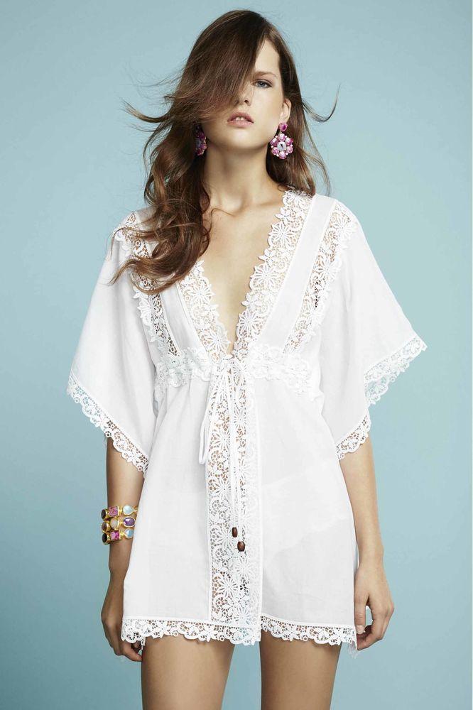 Белое бохо, или Шикарная одежда для королевы летнего пляжа, фото № 59