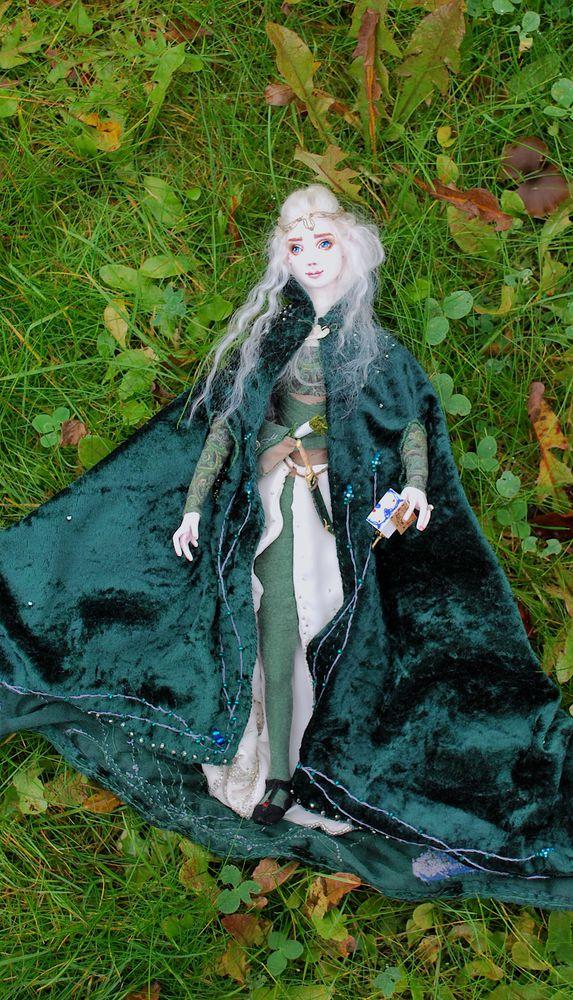 микроэлемент, авторская кукла