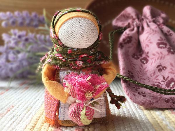 Мастер-класс: «Подорожница, хранительница-невеличка» | Ярмарка Мастеров - ручная работа, handmade