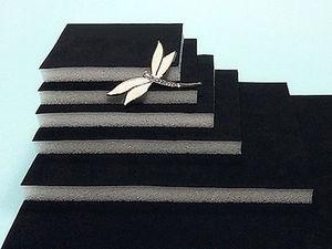 Бархатные ложементы: размеры и стоимость. Ярмарка Мастеров - ручная работа, handmade.