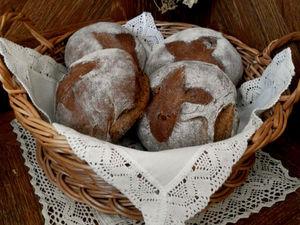 Домашний ржаной хлеб с тмином и кедровыми орешками  , оторваться невозможно ! | Ярмарка Мастеров - ручная работа, handmade