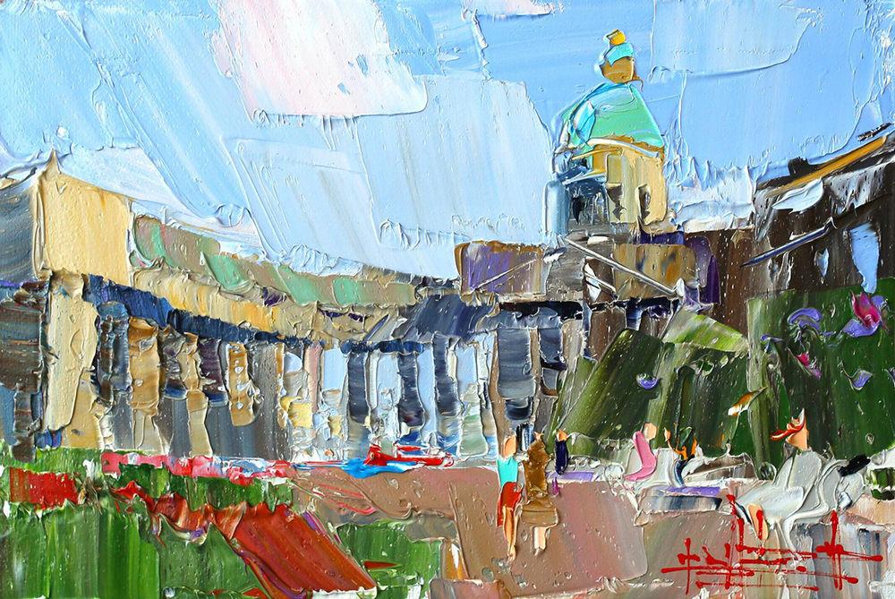 Konstantin Sukhopluev: Artist Painting Rain, фото № 21