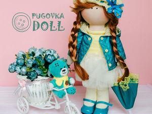 Шьем курточку для куклы. Ярмарка Мастеров - ручная работа, handmade.